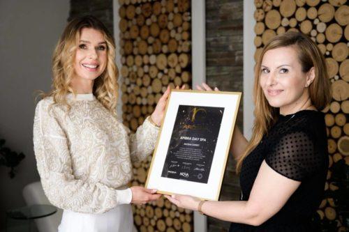 Nagroda dla Ambra Day SPA - Arosha Expert